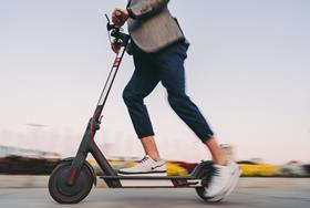 Electric scooters: proceed with caution