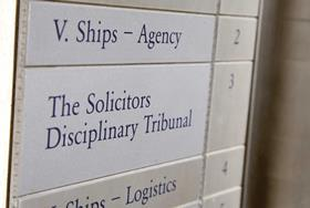 PI solicitor cleared of misconduct over handling of claim