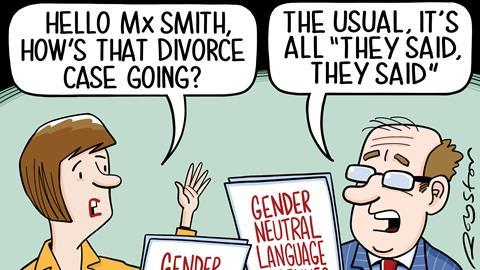 Image result for gender pronoun cartoons