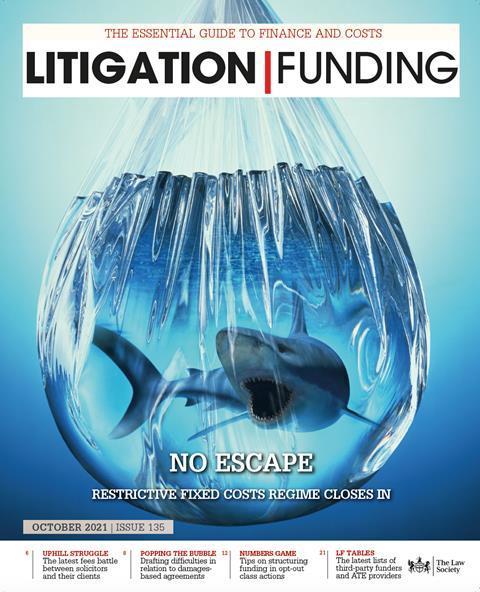 Litigation Funding August 2021