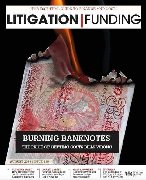 Litigation Funding August 2020