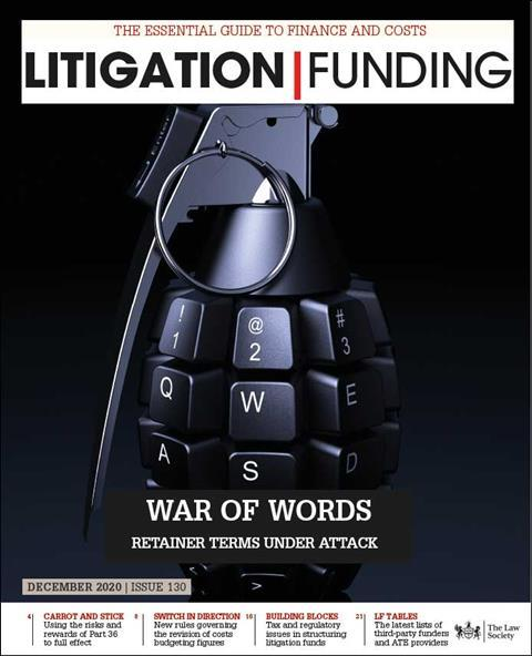 Litigation Funding Nov 2020