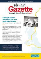 Law Society Gazette Legacy & Appeals Directory 2021