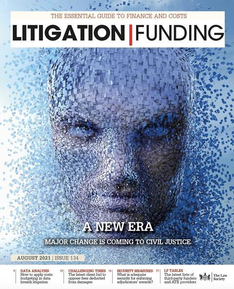 Litigation Funding Cover Aug 2021