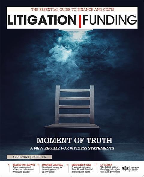 Litigation Funding April 2021
