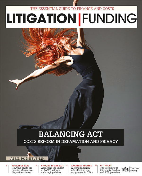 Litigation Funding Cover April 2019