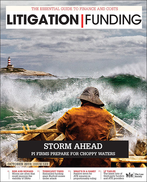 Litigation Funding cover October 19