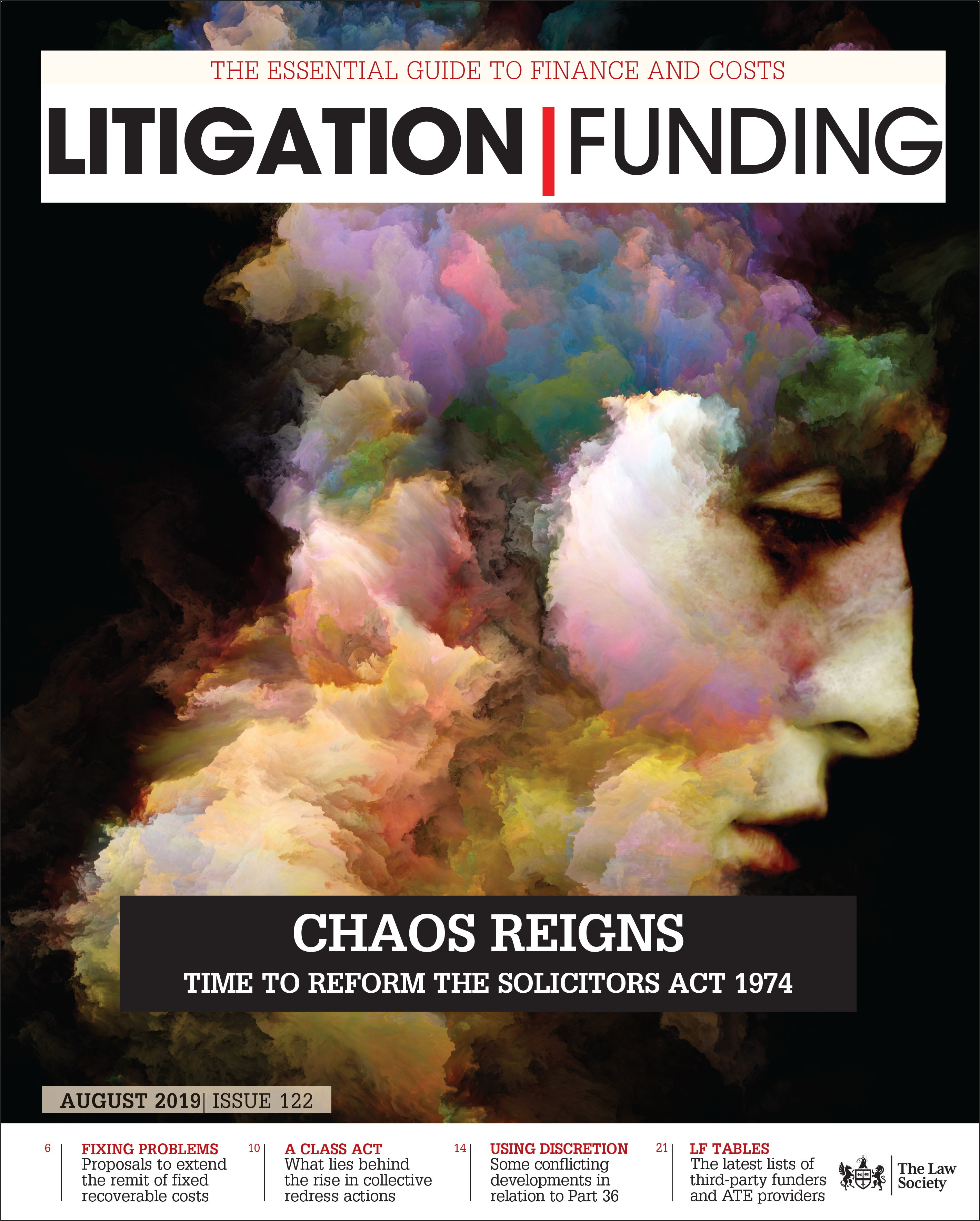Litigation Funding cover August 19